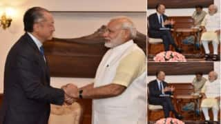 World Bank chief Jim Yong Kim meets Narendra Modi, discusses nutrition, green power