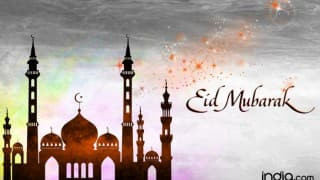 Eid Mubarak 2016 Wishes: Best Eid Chand Raat Mubarak SMS Messages, WhatsApp & Facebook quotes, eCards to Wish Happy Eid-al-Fitr 2016 Greetings