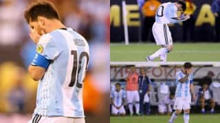 Watch: Lionel Messi's missed goal in Copa America final that triggered the Argentine's international retirement