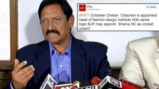 Twitter can't stop laughing after NIFT named Chetan Chauhan as Chairperson