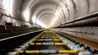 Railway Board officials visit Parsik tunnel site