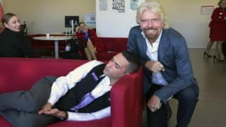 Richard Branson caught one of his employee sleeping in office! Can you guess what the boss does next?