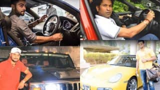 देखिये भारतीय क्रिकेट टीम के खिलाडियों के कार की ख़ास तस्वीरें