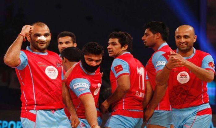 Image result for Pro Kabaddi League: Jaipur Pink Panthers defeat U Mumba 39-36