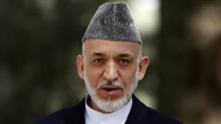 Pakistan not in favour of India-Afghanistan ties: Hamid Karzai