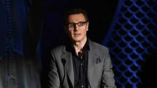 Liam Neeson pays tribute to Muhammad Ali