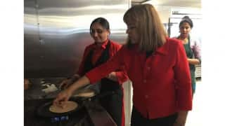 Loretta Sanchez Campaigns in Artesia for Indian American Vote