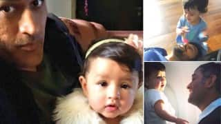 MS Dhoni wishes to spend quality time with adorable daughter Ziva after Zimbabwe tour!