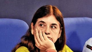 Maneka Gandhi reacts to son Varun Gandhi not being projected as BJP's Uttar Pradesh CM candidate
