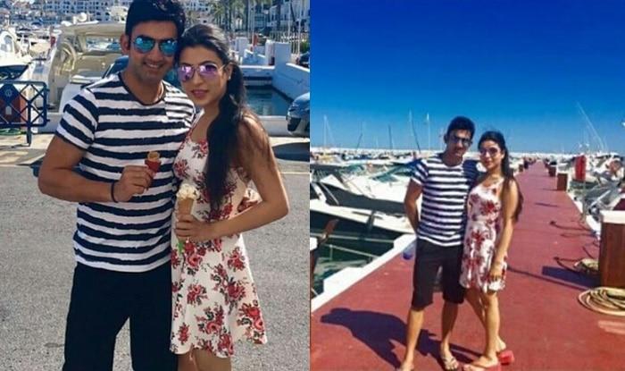 Image result for gautam gambhir honeymoon pics
