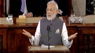Narendra Modi addresses US Congress: PM Modi sends out stern message to those questioning religious freedom in India