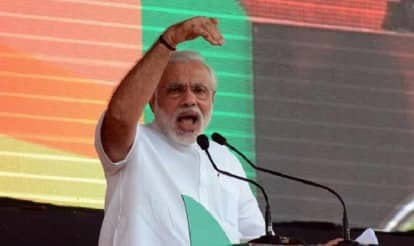 """PM Modi sets tone for Mission Uttar Pradesh: From casteism to communalism, 10 things he said at rally in """"Prayag"""" (Allahabad)"""