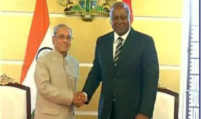 'India a reliable partner both  in developing, developed world': President Pranab Mukherjee tells Ghana - India.com