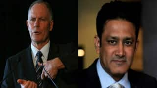 Greg Chappell welcomes`inspired choice Anil Kumble's appointment as India coach