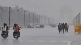 Parts of Delhi Witness Heavy Rains, Hailstorm; No Cold Wave Predicted For Today