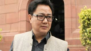 Myanmar asked for taking action against N-E militants, Kiren Rijiju