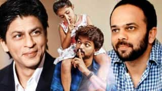 All is well between Shah Rukh Khan & Rohit Shetty; team up for Tamil Superstar Vijay's Theri remake!