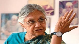 Sheila Dikshit's Last Message to Congress Workers: Protest at BJP Office Against Priyanka's Detention in Chunar