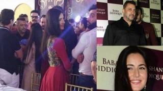 Salman Khan attends Baba Siddique's Iftar party with Katrina Kaif and not Iulia Vantur?