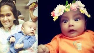 See how Salman Khan's nephew Ahil posed for Snapchat filters!