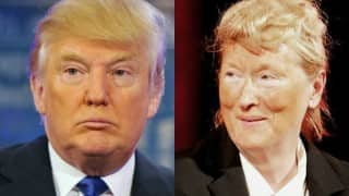 Meryl Streep takes a dig at Donald Trump, impersonates as the presidential candidate