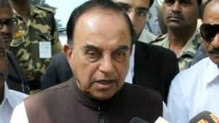 Subramanian Swamy issues veiled threat of 'bloodbath' to Finance Ministry