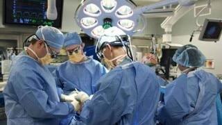 Brain dead man's organs harvested