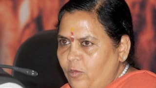More water to be released in Yamuna to bring pollution down: Uma Bharati
