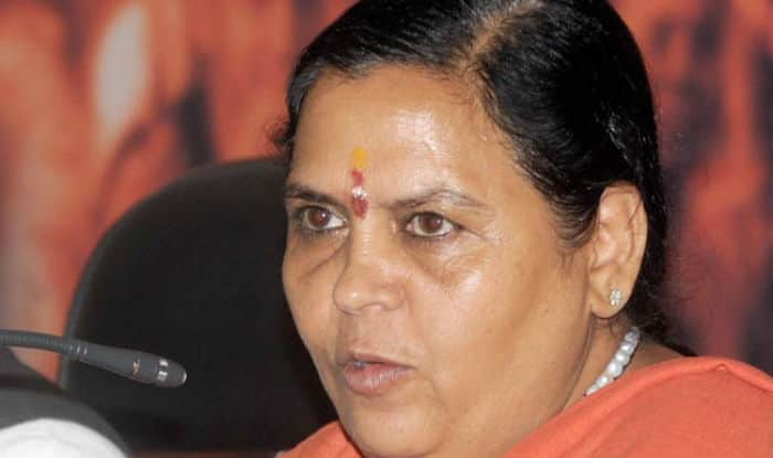 Uma Bharti (File Photo)