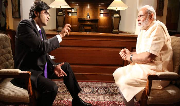 Image result for Arnab interview Modi