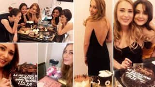 Salman Khan celebrates girlfriend Iulia Vantur's 36th birthday with family and friends! View birthday bash pictures!
