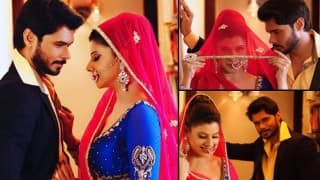 Sambhavna Seth and Avinash Dwivedi's traditional pre-wedding photoshoot will give you major love goals! See pictures!