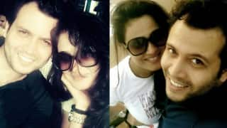 Aww! Pregnant Shweta Tiwari vacationing in Goa with husband Abhinav Kohli