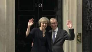 Theresa May's first public address after taking over as Prime Minister of United Kingdom (Watch Video)