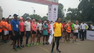 The Great India Run flagged off