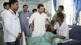 Una incident: Rahul Gandhi forced doctors to keep Dalit patient in Rajkot hospital?
