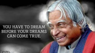 APJ Abdul Kalam 1st death anniversary: Top 15 quotes recalling the message of 'People's President'