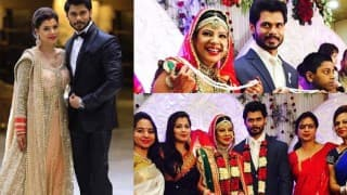 Sambhavna Seth and Avinash Dwivedi wedding:  Have you seen the couple's stunning reception pictures yet?