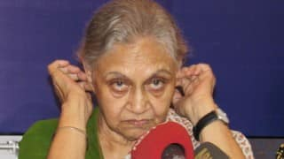 Sheila Dikshit likely to be decalred as Congress' chief ministerial candidate in Uttar Pradesh