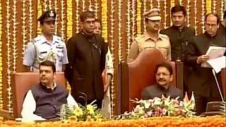 महाराष्ट्र कैबिनेट के 10 नये मंत्रियों ने ली शपथ