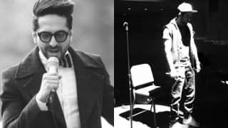 When Ayushmann Khurrana set the stage on fire with his moonwalk! Watch video