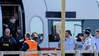 Axe attack on German train injures four