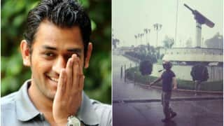 MS Dhoni's love for monsoon can be seen in this picture!