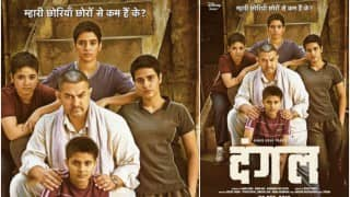 Dangal new poster: Proud father Aamir Khan introduces his wrestler daughters in empowering Dangal poster!