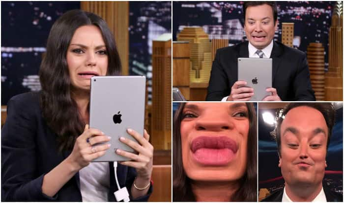 Mila Kunis goes on a Tinder date with Jimmy Fallon! Watch funny video