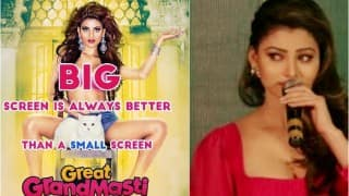 Urvashi Rautela breaks down in tears at Great Grand Masti movie leak press conference (Watch video)