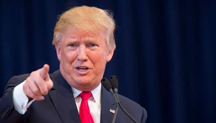 Even at VP event, it's all about Donald Trump