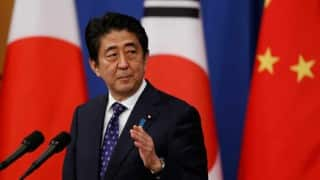 Japan PM Shinzo Abe unveils more than $266 billion stimulus: media