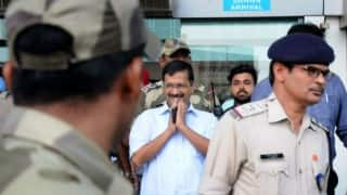 Majithia defamation case: Arvind Kejriwal attacks SAD-BJP government before appearing in Amritsar court