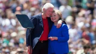 Bill Clinton narrates love story to make his case for Hillary Clinton